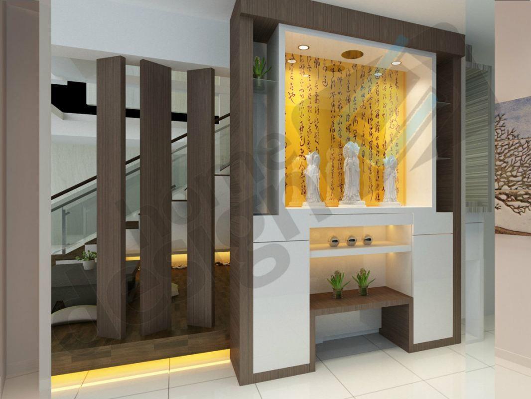 Cai yi construction m sdn bhd altar design altar 3d for Living room design johor bahru