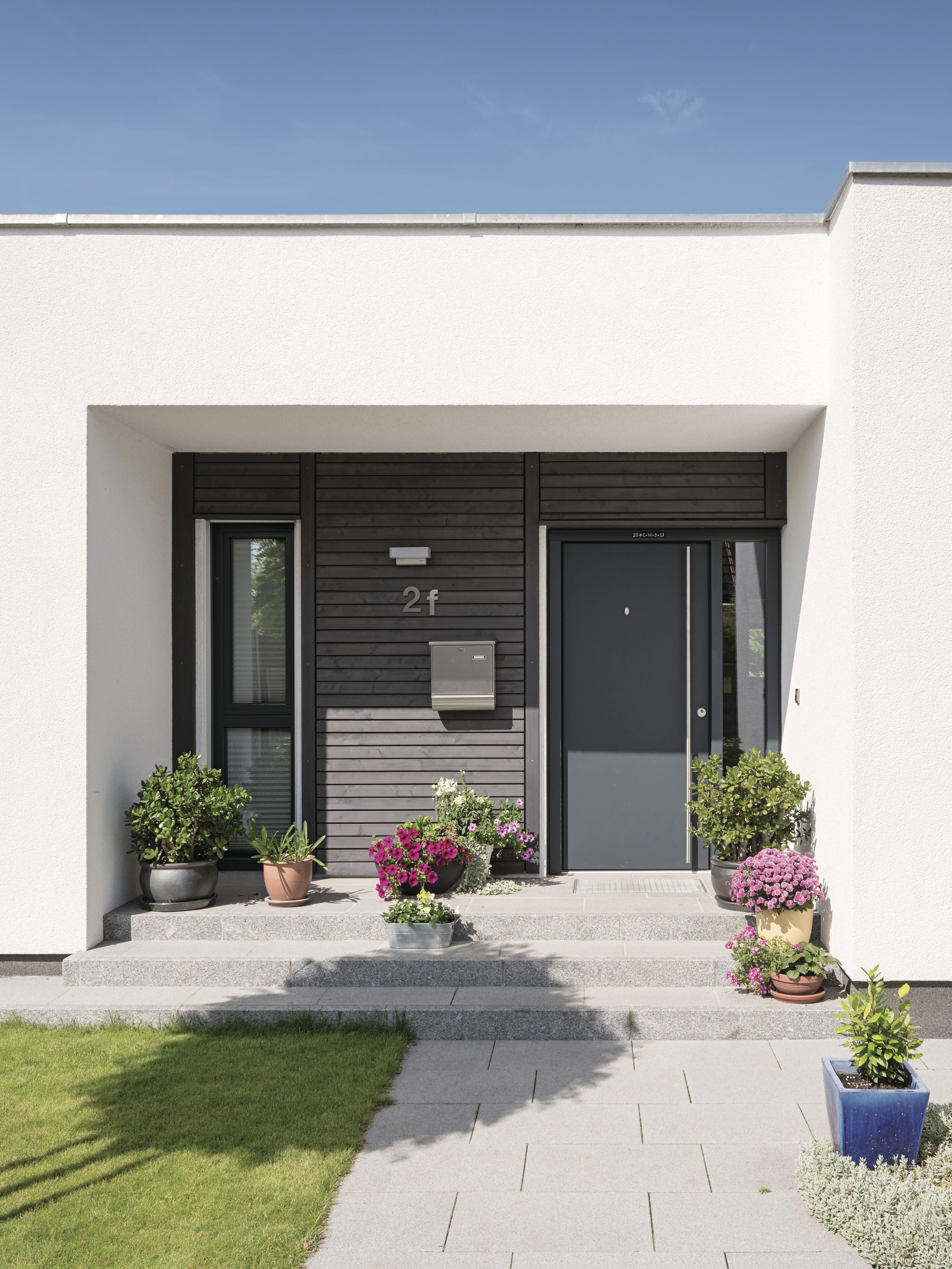 Erdgeschoss haus front design bungalow von weberhaus  moderne komfortzone auf einer ebene