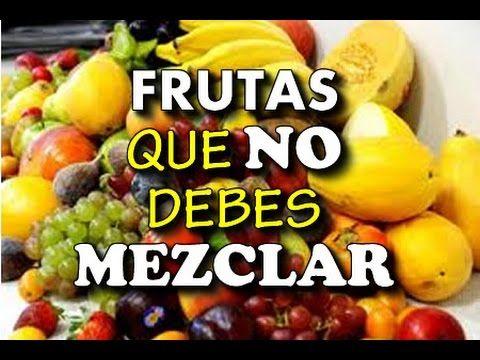 Mezcla de frutas para bajar de peso