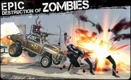 Zombies Cars and 2 Girls is a Racing Game for android