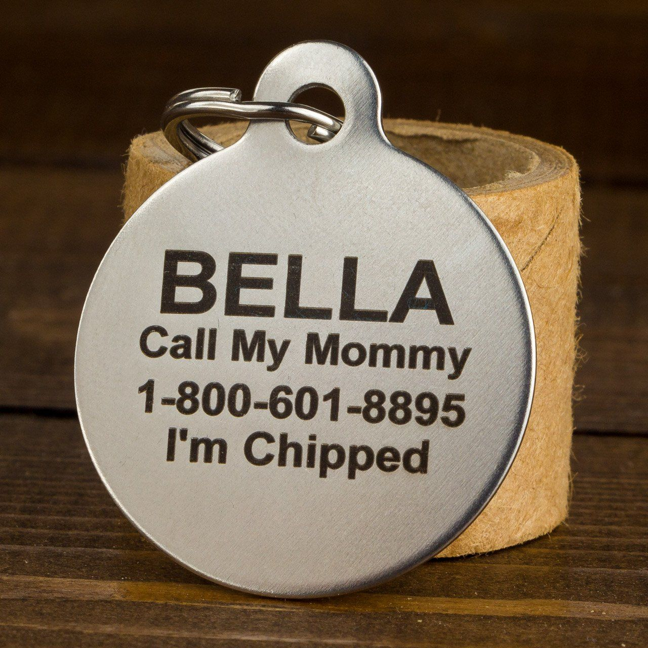 If It Barks Engraved Pet Id Tags For Dogs Personalized Pet Id Name