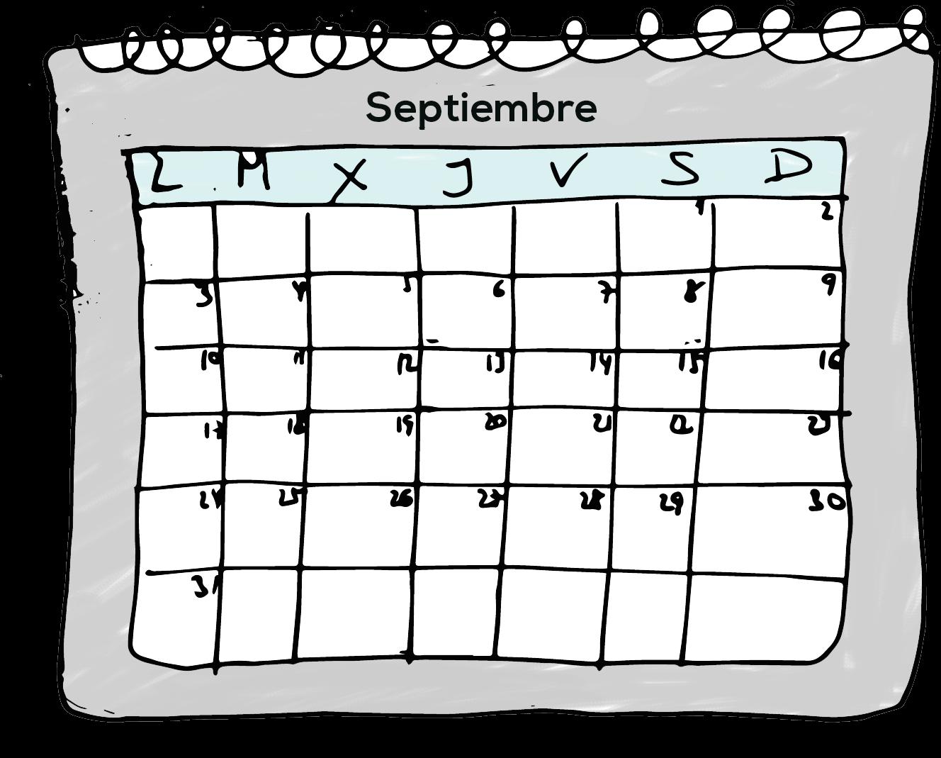 calendario negociar autonomía estudios