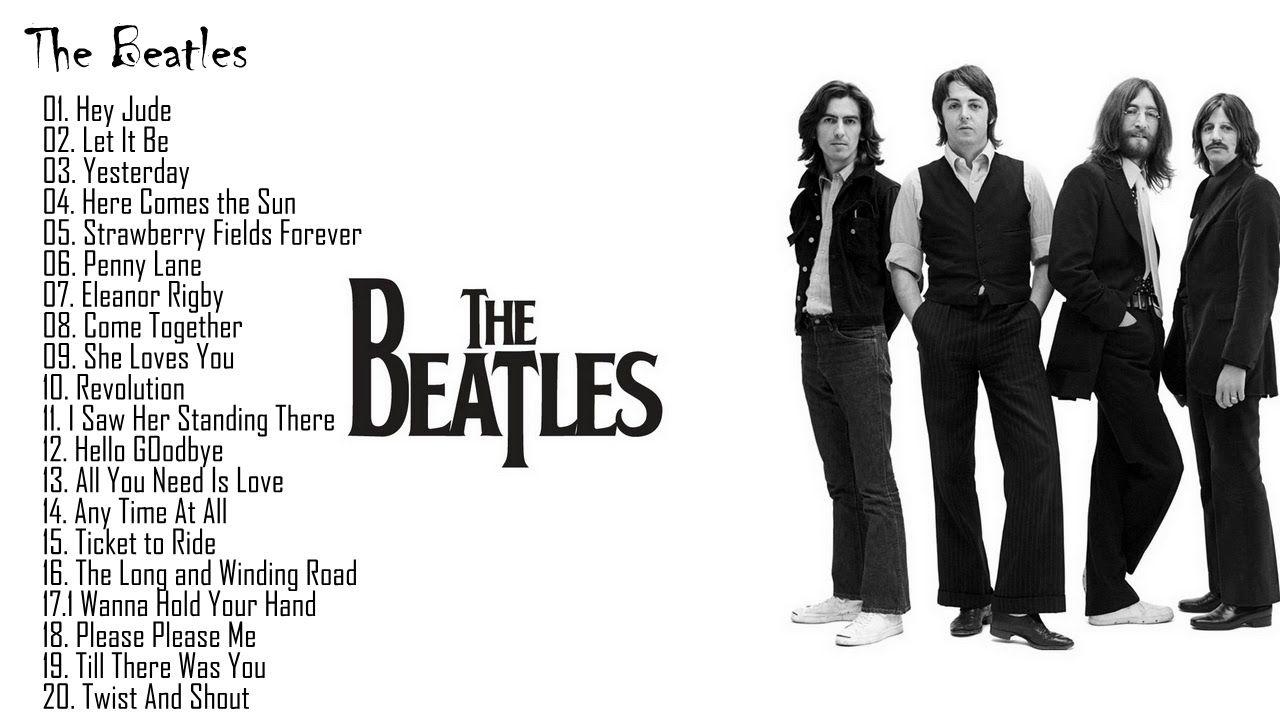 The Beatles Grandes Exitos Cubierta Completa 2017 Lo Mejor De The Bea Beatles Musica Youtube