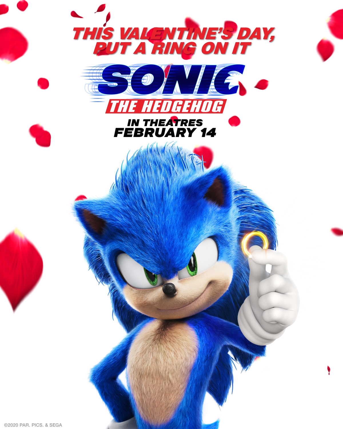 Sonic The Hedgehog In Theatres Now In 2020 Sonic The Hedgehog Sonic Hedgehog Movie