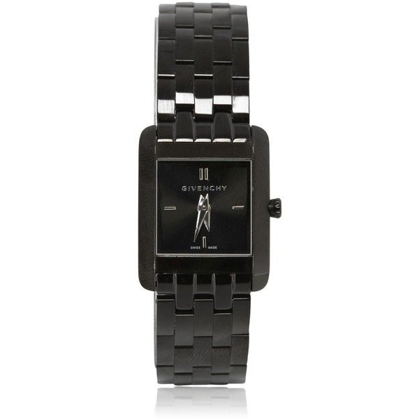GIVENCHY Stainless Steel Logo Watch $1091