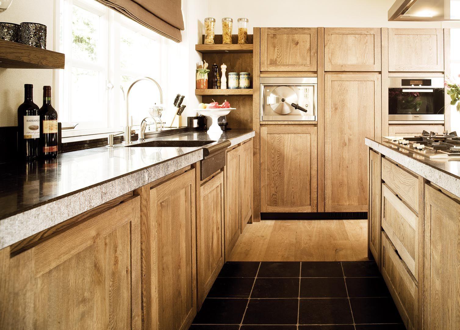 Landelijk Houten Keuken Deze Landelijke Keuken Van Klassiek Eiken