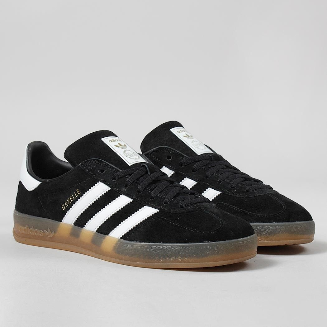 adidas indoor gazelle black