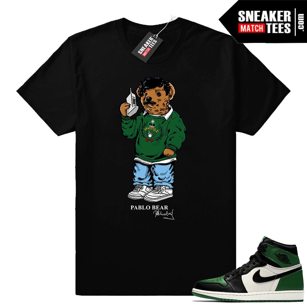 1c75f2a72 Pine Green 1s Pablo Bear