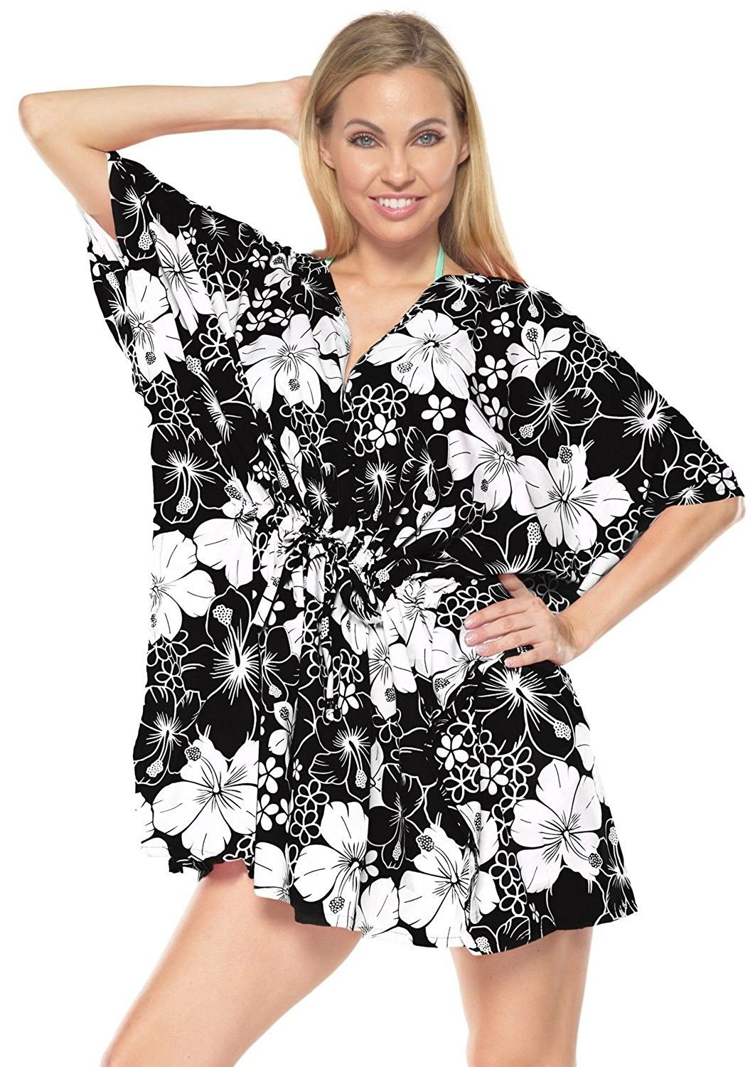 3ede8f936cbaf Caftan Cover ups Wrap Swimwear Dresses Beach Wear Bikini Resort Top ...