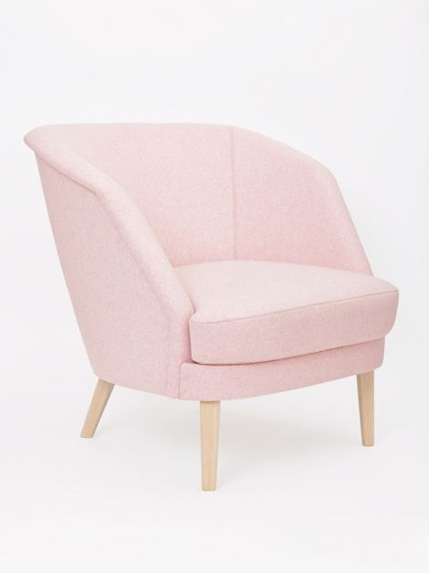 Genial Pink Arm Chair