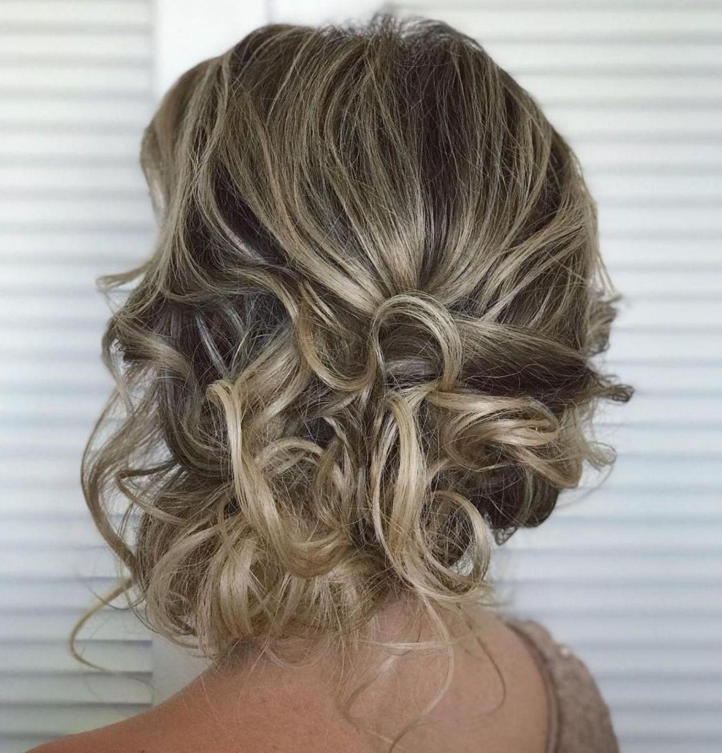 trendiest updos for medium length hair in updo pinterest