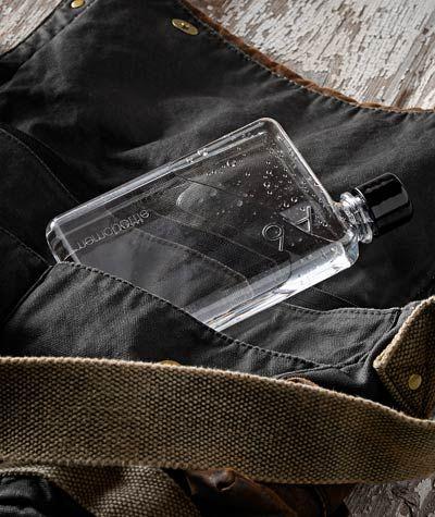Effortlessly Cool Men's Accessories - Clear Bottle - Carbon2Cobalt