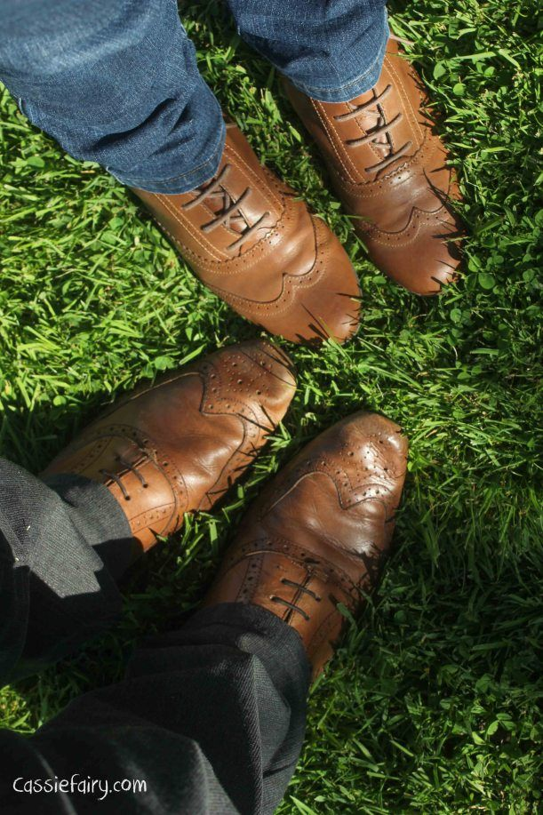 tuesday shoesday fashion footwear - his n hers brogues