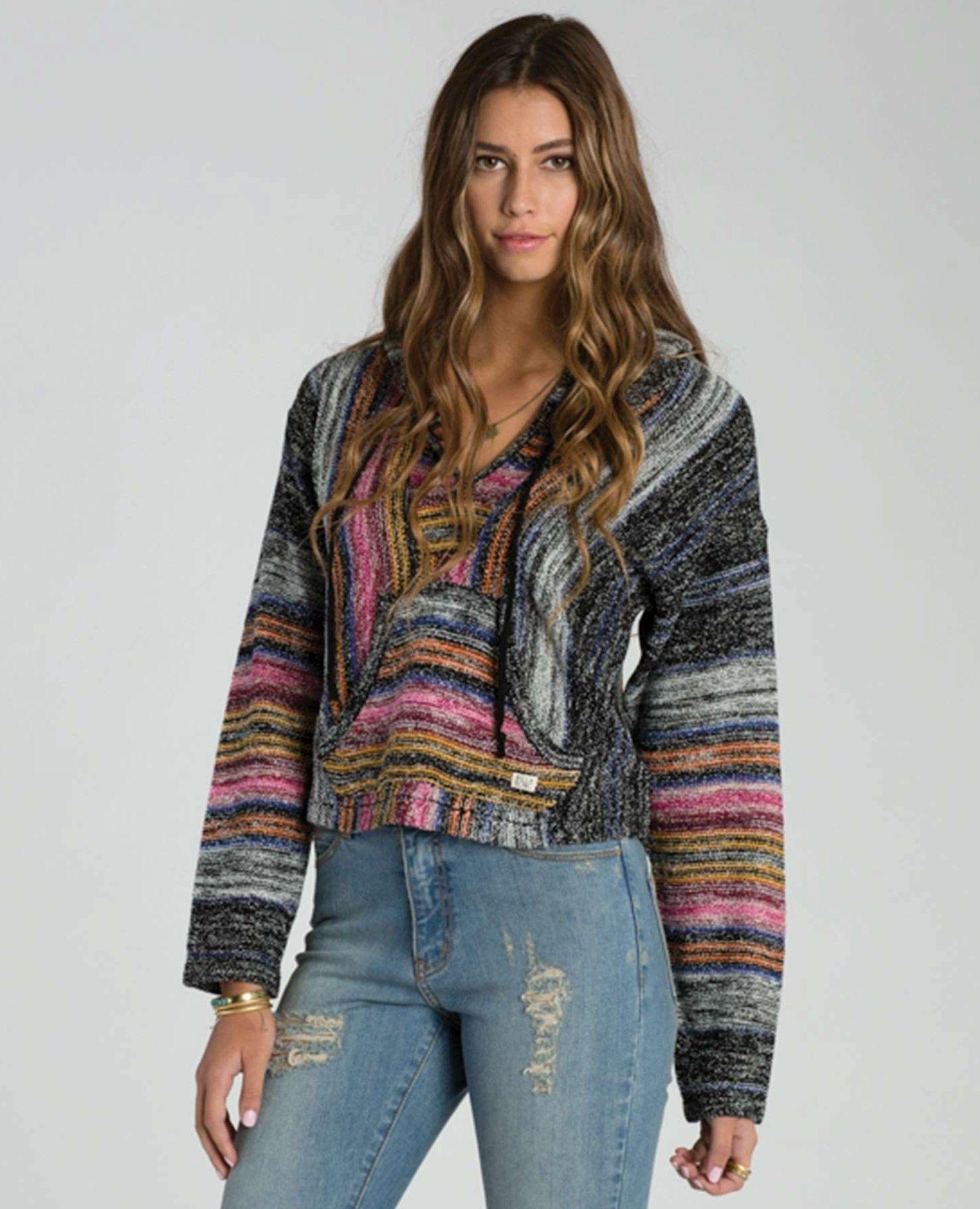 9a7a4c0b2310 Billabong Womens Cropped Baja Sweater