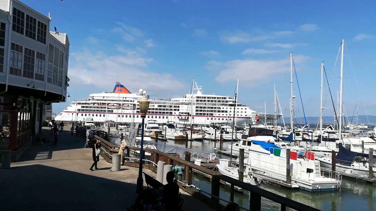 Awesome Cruise Ship Europa Enters The San Francisco Bay About - Cruise ships from san francisco