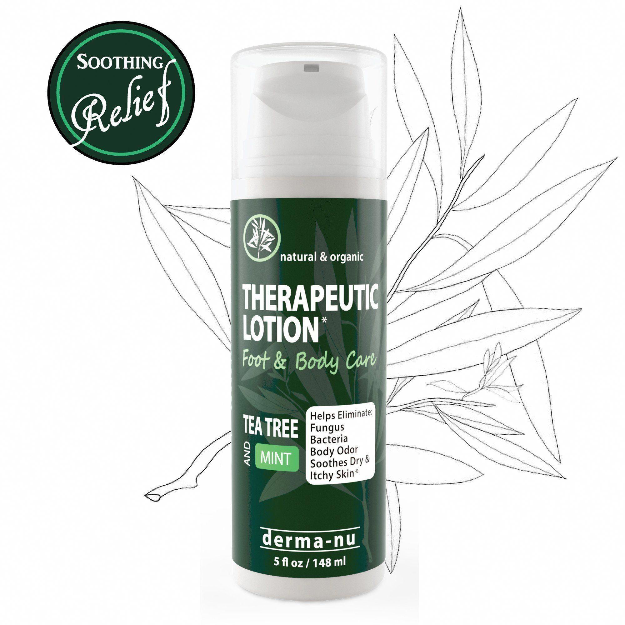 Tea Tree Oil Therapeutic Lotion Antifungal & Anti Itch