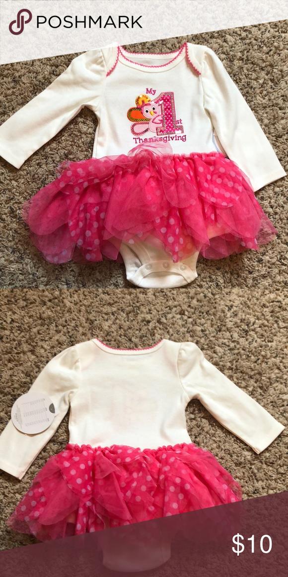 7d5372de6105 Baby girls first thanksgiving outfit Brand new with tags. Baby girls first  thanksgiving outfit. Koala Kids One Pieces