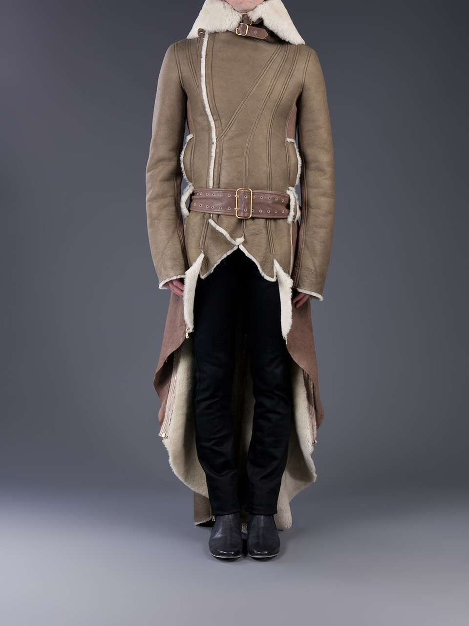 Dominic Louis Shearling trench coat | Auto Accessories | Pinterest ...