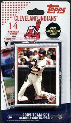 Topps Mlb Baseball Cards 2009 Cleveland Indians 14 Card Team Set