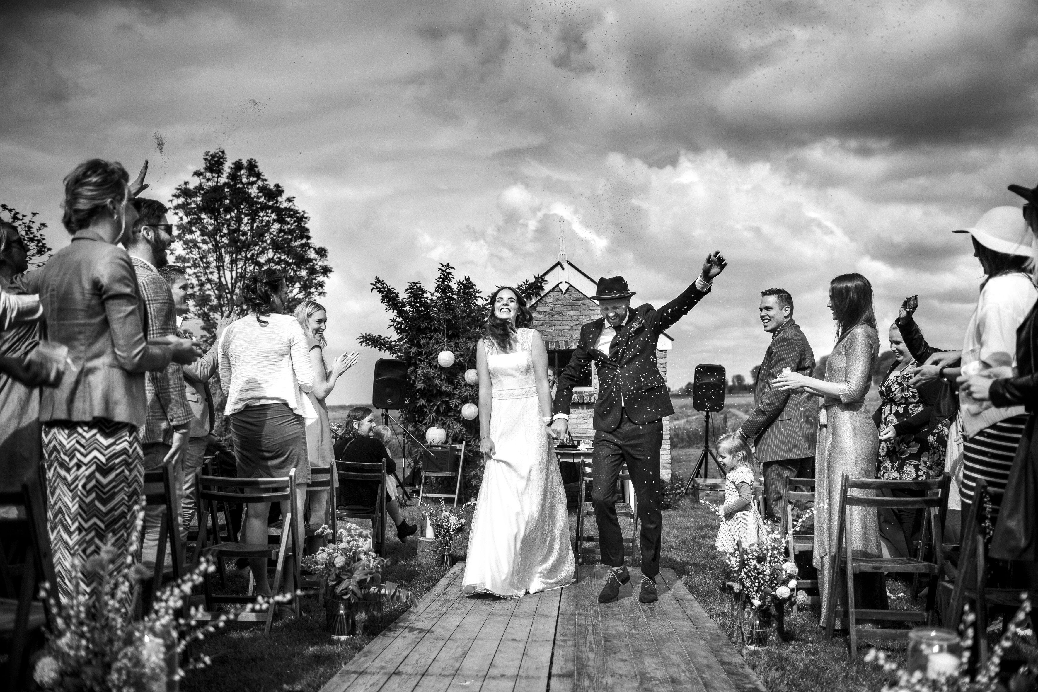 Just Married It Flinkeboskje Fotocredits Siese