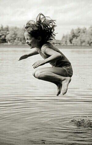 All summer long.....swimming