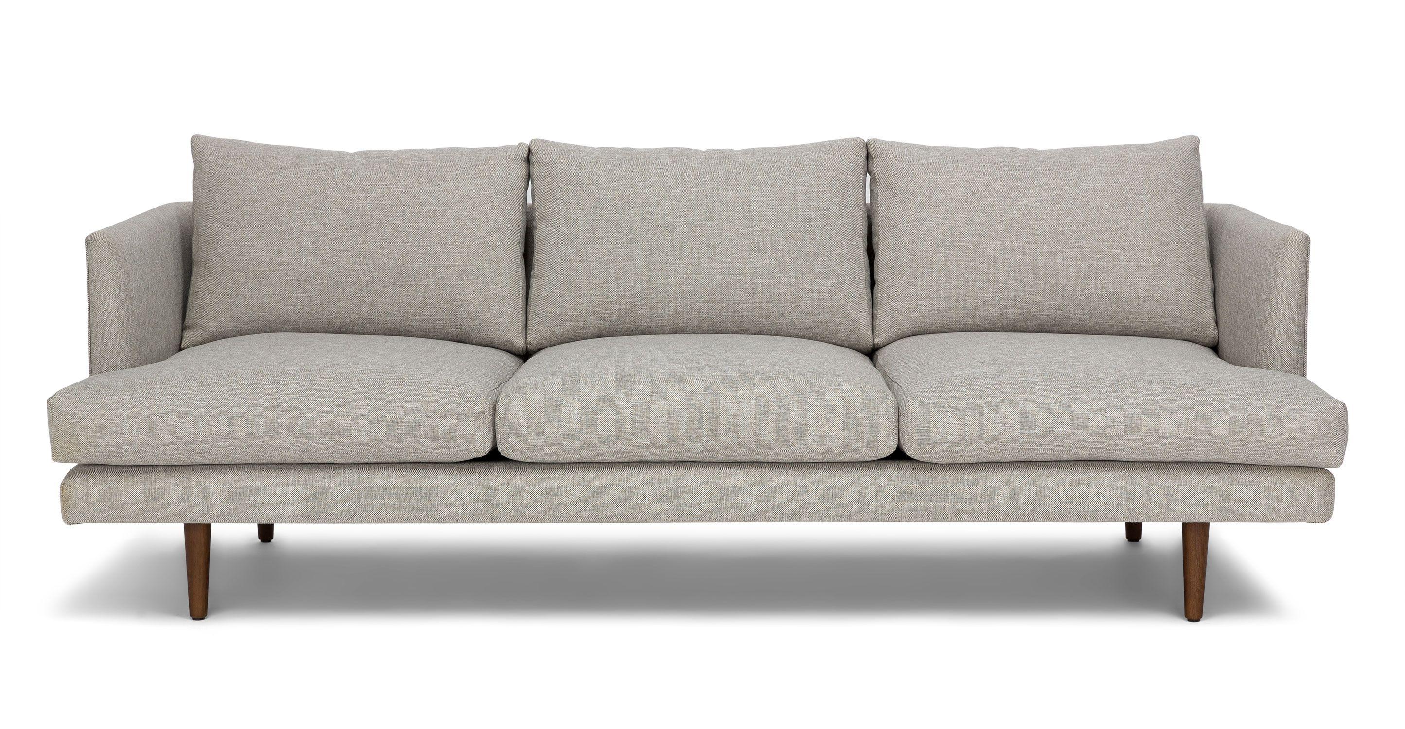 Burrard Seasalt Gray Sofa Light Gray Sofas Modern Sofa Couch