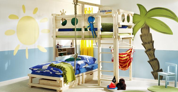 WOODLAND Kindermöbel & Kinderbetten Betten für kinder