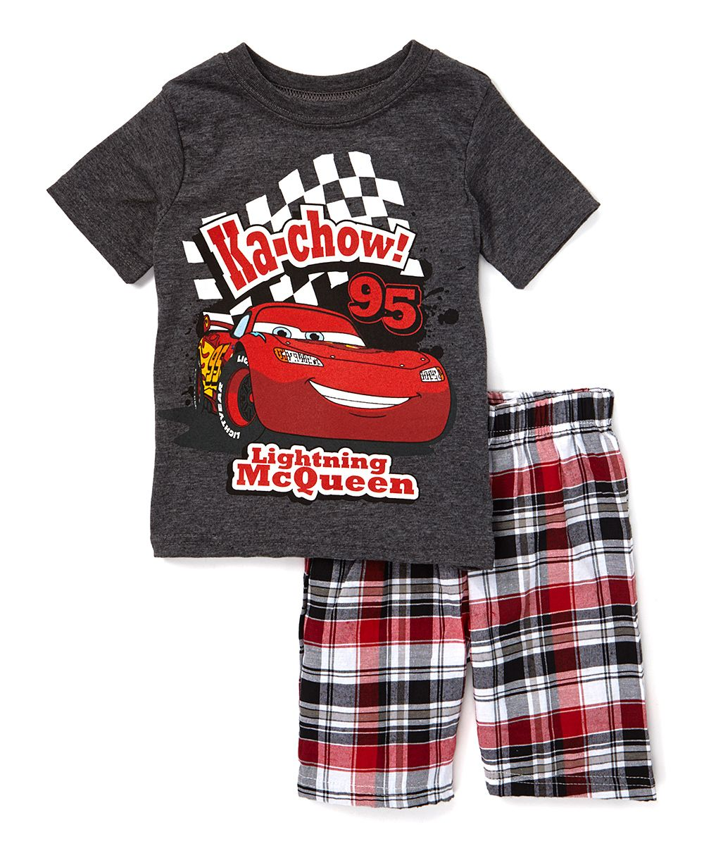 b55ce228231fd Cars Tee & Shorts Set - Toddler | Products | Kids outfits, Toddler ...