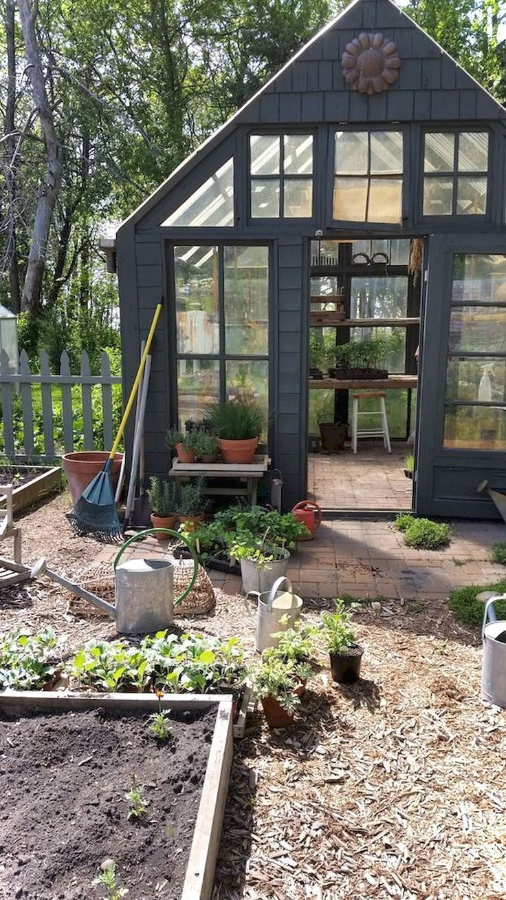 Awesome 50 Awesome Garden Shed Design Ideas Https Lovelyving Com 2017 11 30 50 Awesome Garden Shed Design Ideas Backyard Greenhouse Shed Greenhouse Gardening Backyard greenhouse garden shed