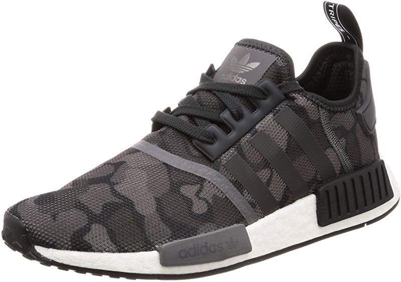 adidas NMD R1 Sneakers Laufschuhe Herren SchwarzGrau (Core