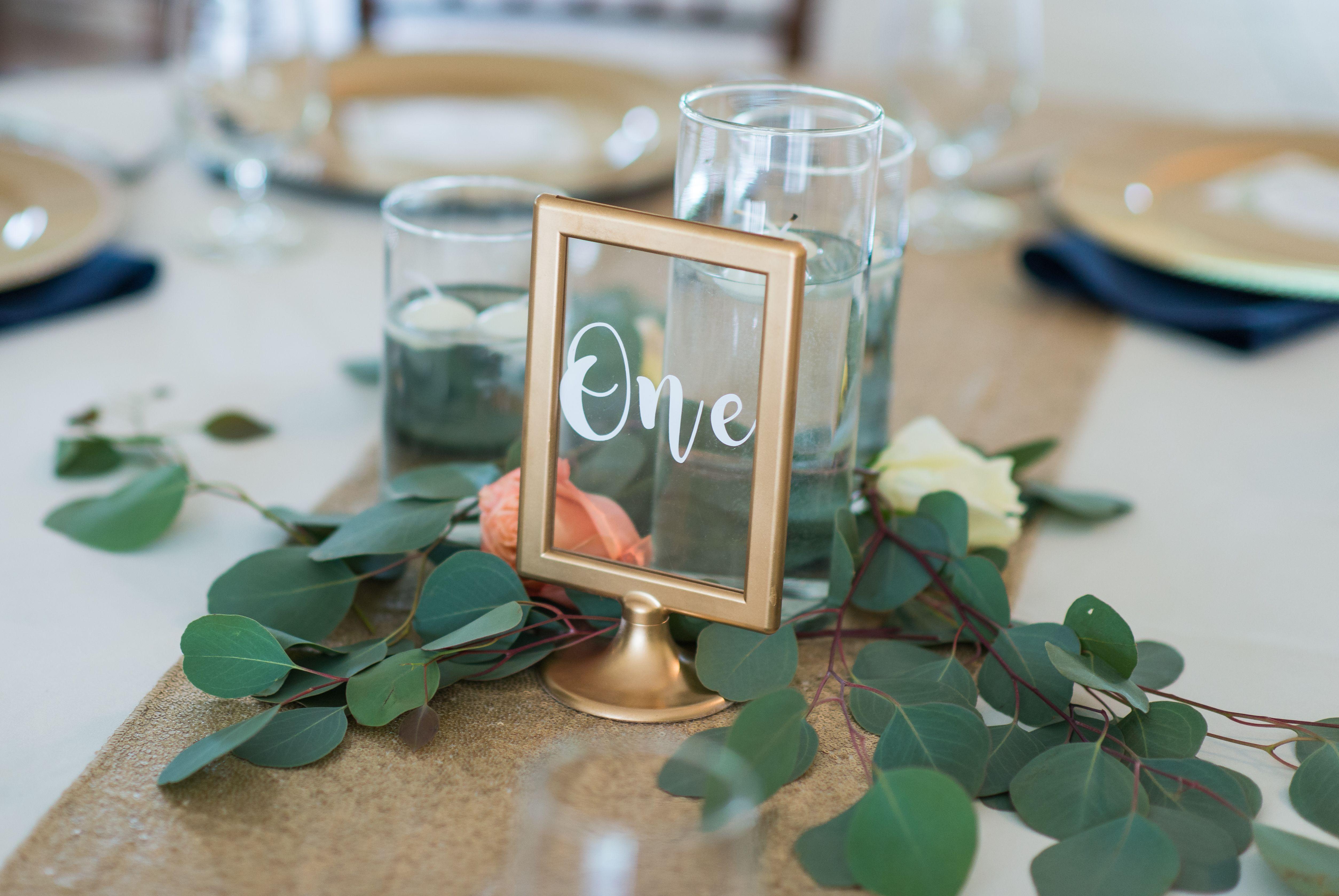 Emerald wedding decor ideas  Kayla u Jack Photo Credit Emerald Stone Photography