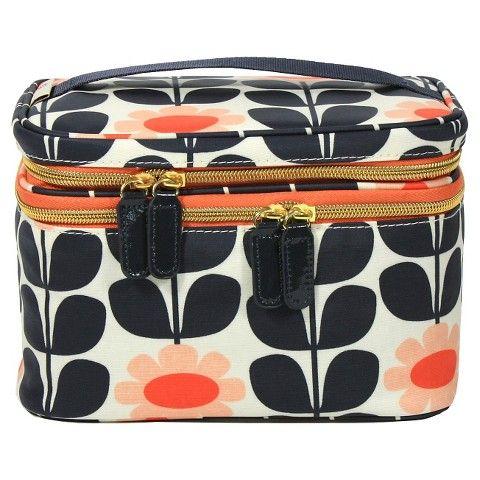 Bag Cosmetic Multi Colored Fl Orla Kiely