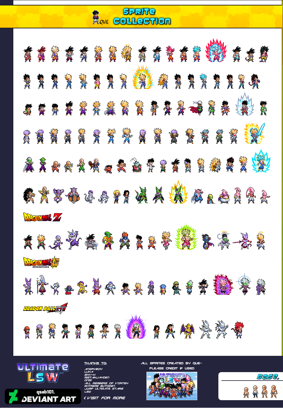 Ultimate Lsw Sprite Collection By Qsab101 Art In 2019 Dragon