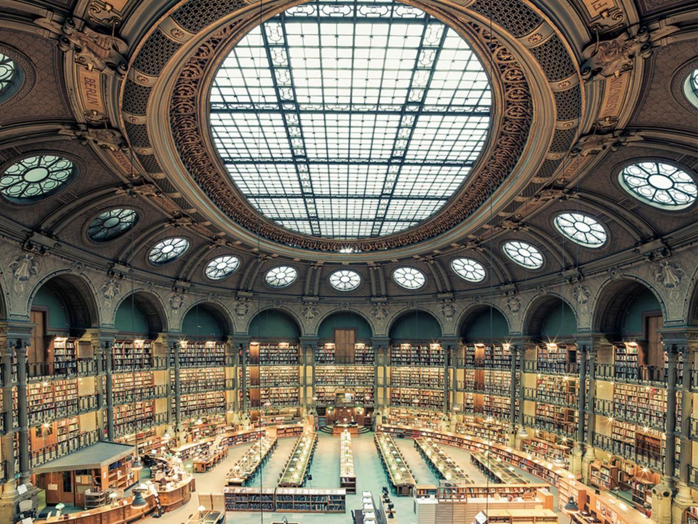 словосочетание национальная библиотека франции внутри фото плюс глянцевая гладкая