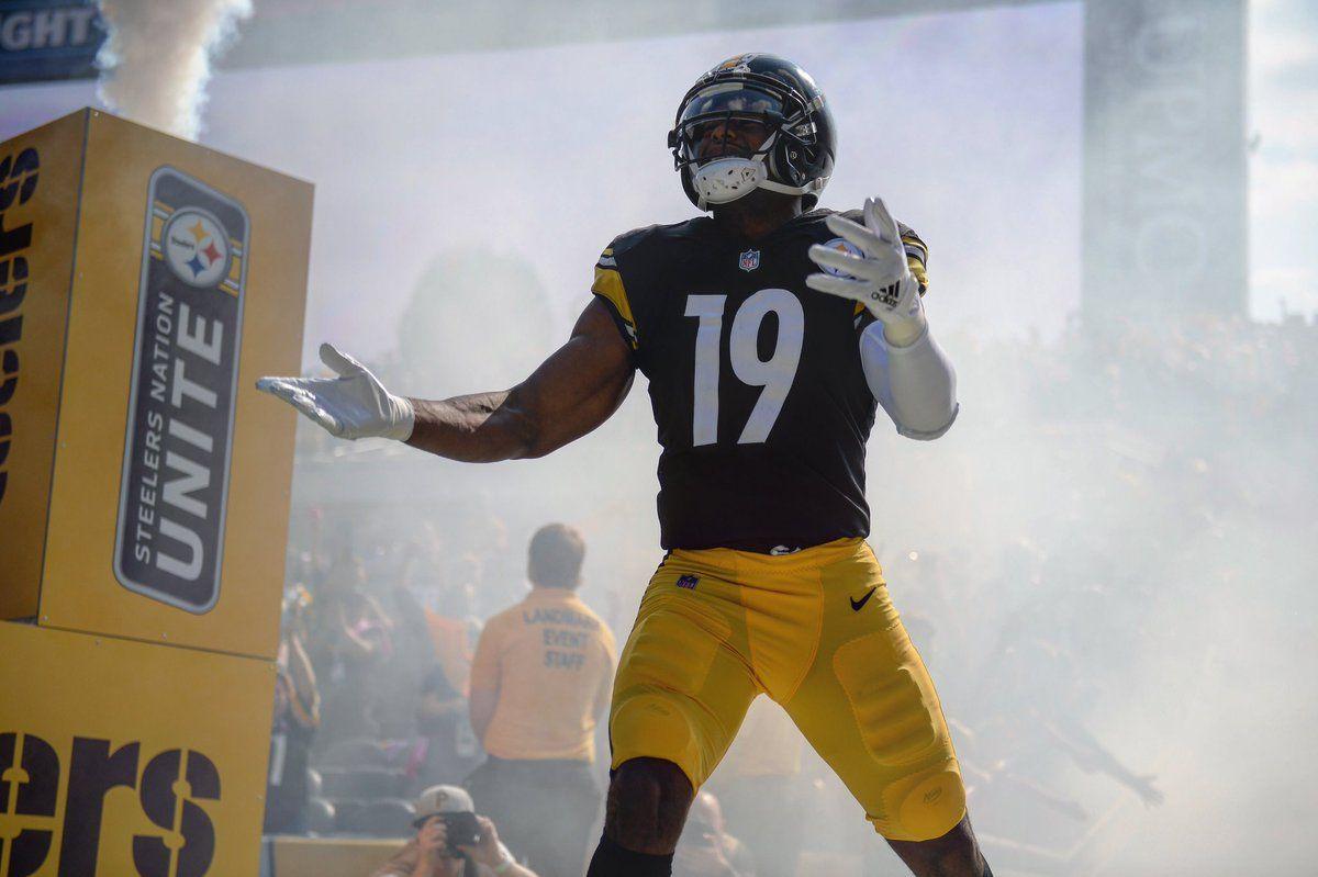6e50a4c52dd JuJu Smith-Schuster Pittsburgh Steelers Football