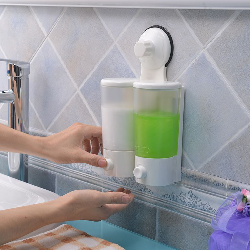 1 Pcs Lot Bathroom Hand Sanitizer Bottle Soap Dispenser Wall