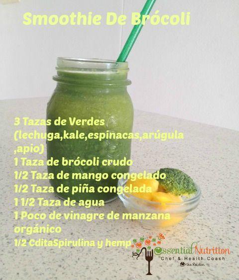 Smoothie De Brócoli