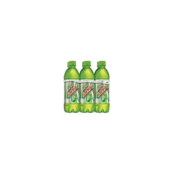 Diet Mountain Dew, 6 16.9 oz. Bottles ❤ liked on Polyvore featuring groceries