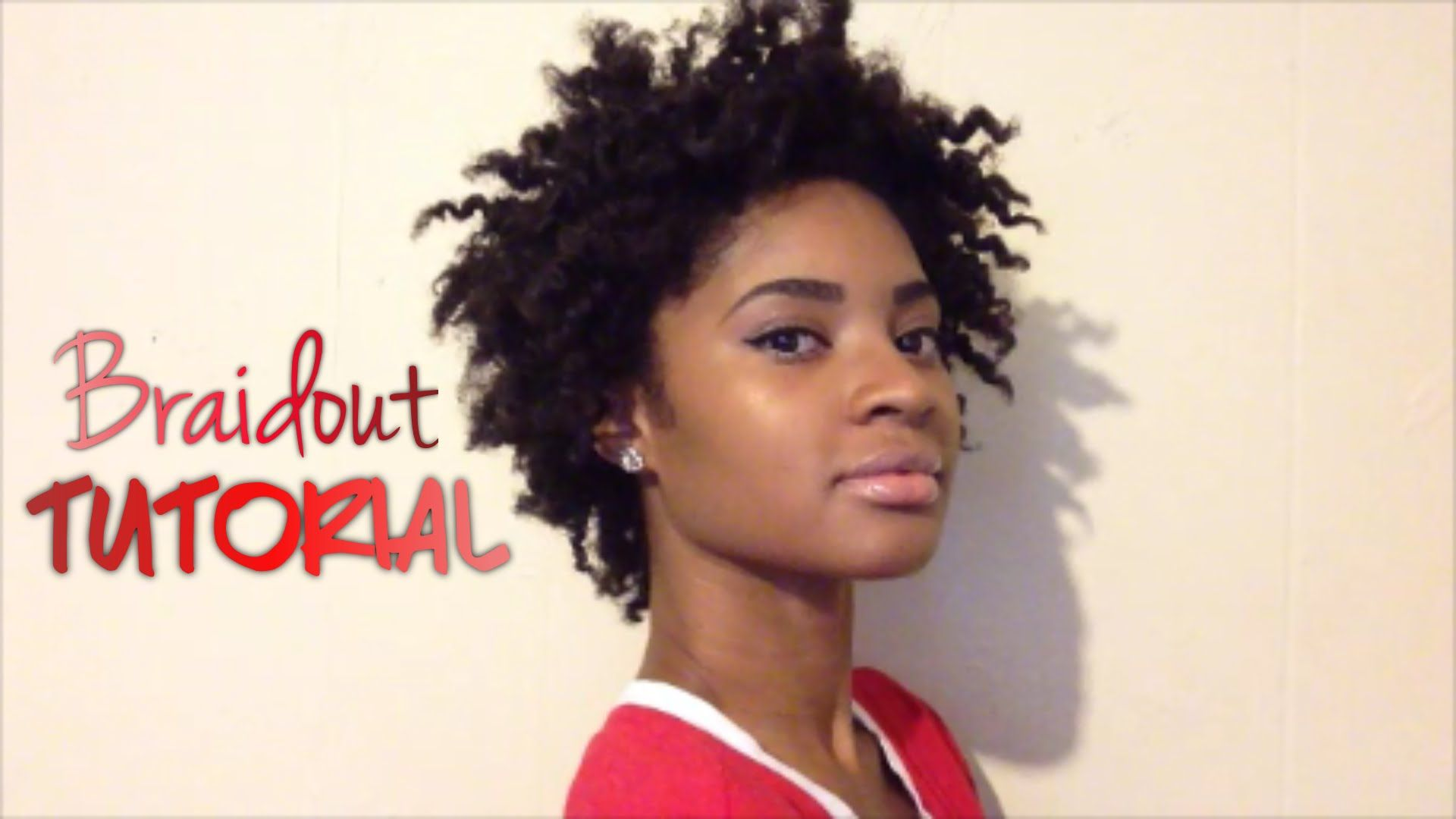 Braidout on short natural hair natural hair pinterest short