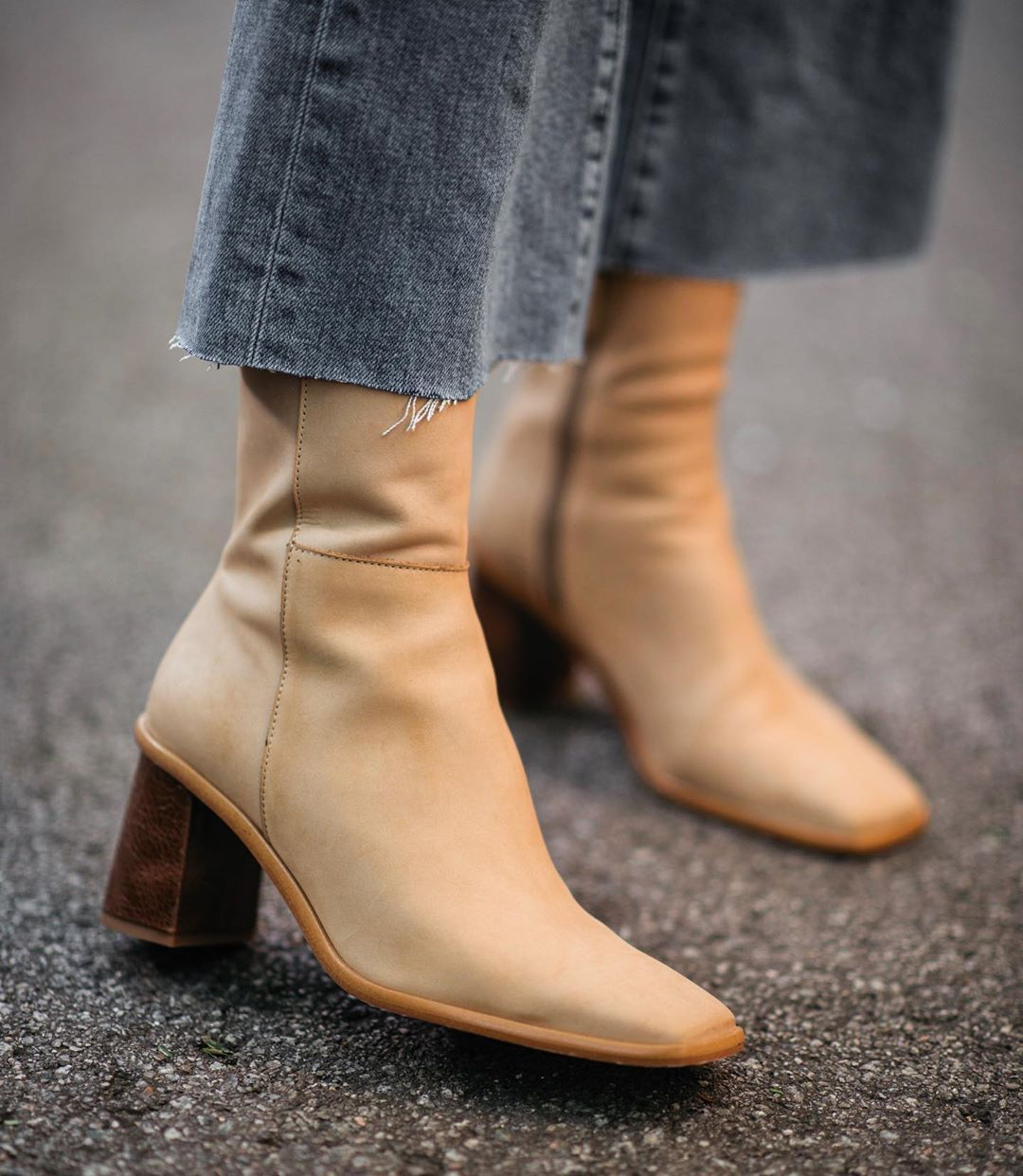 Details about  /2019 Winter Womens Pointed Toes Block Heels Pointed Toes Ankle Boots Shoes Super