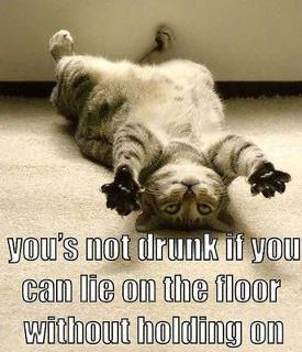 back in my drinking days this would apply. LOL
