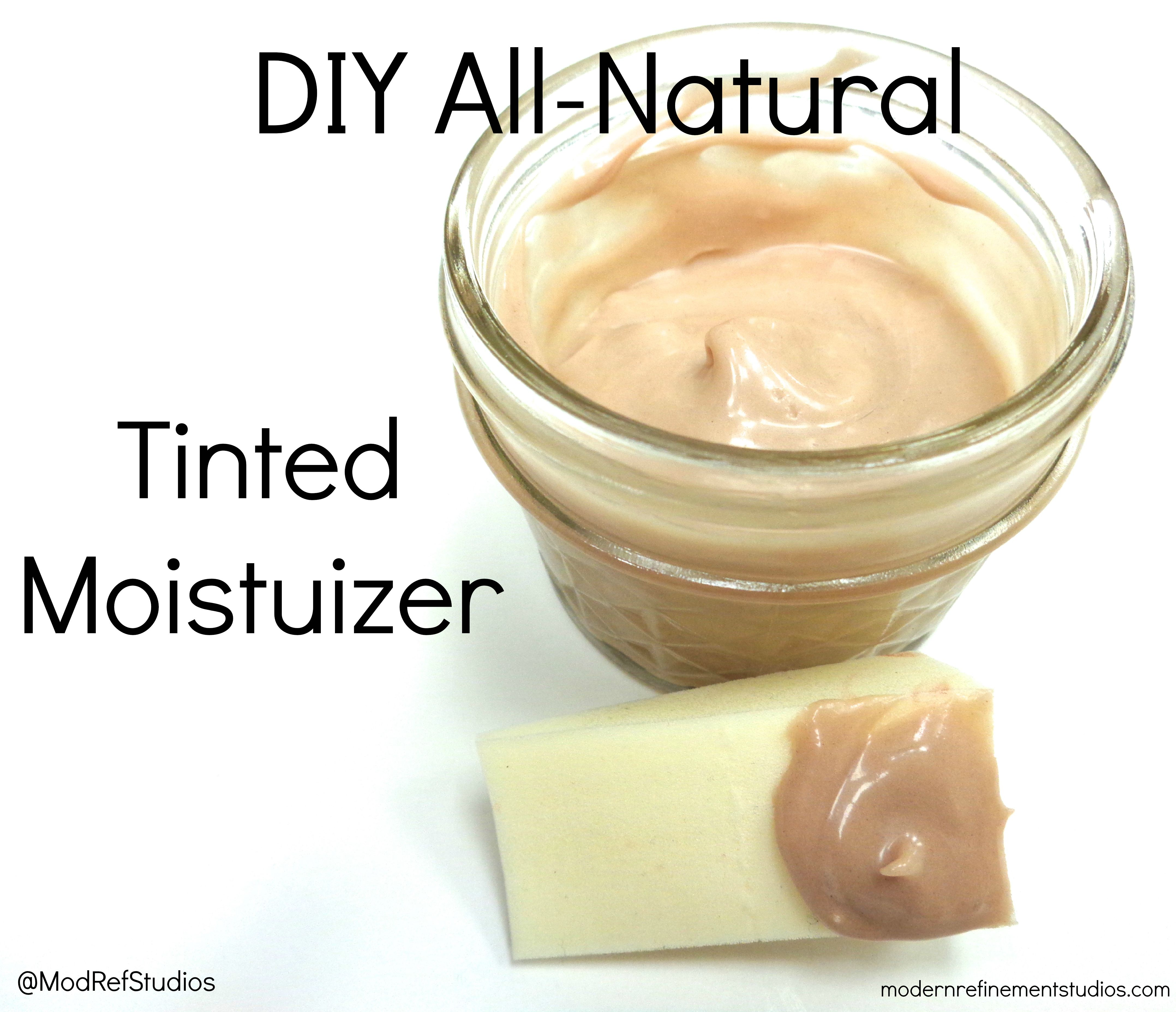 DIY all-natural tinted moisturizer