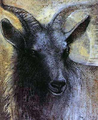 Susan Seddon Boulet - Animal Spirits, Goat chèvre