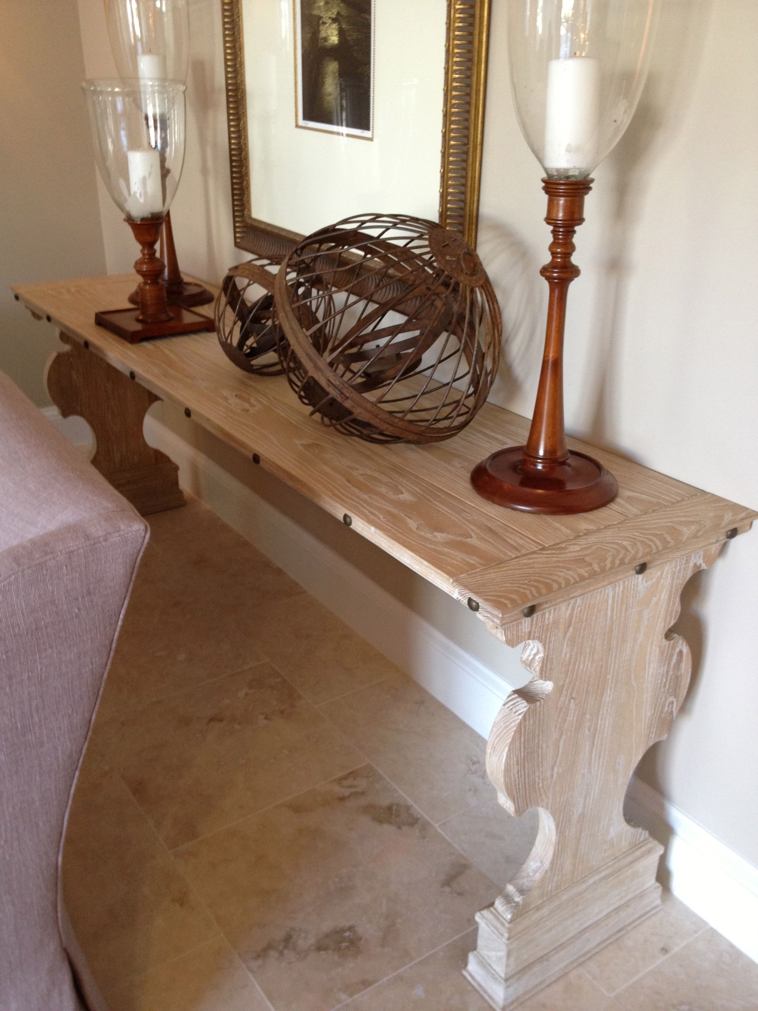 Hickory Chair console table Table, Decor