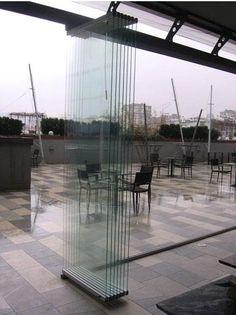 ALAFORM glass folding door systems ALA/600 | Doors | Pinterest ...