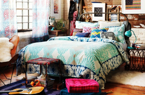 Genial Decoration Chambre Hippie Chic