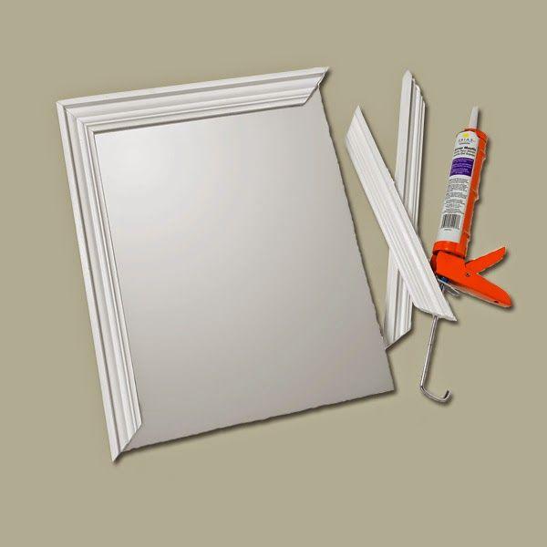diy frameless mirror - Buscar con Google   Nicole   Pinterest   Diy ...