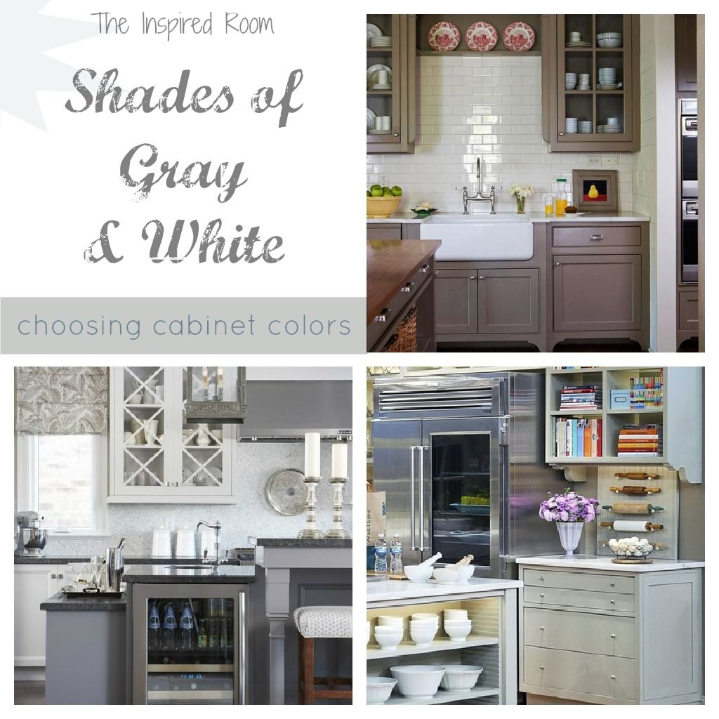 Best Wall Color With Gray Cabinets