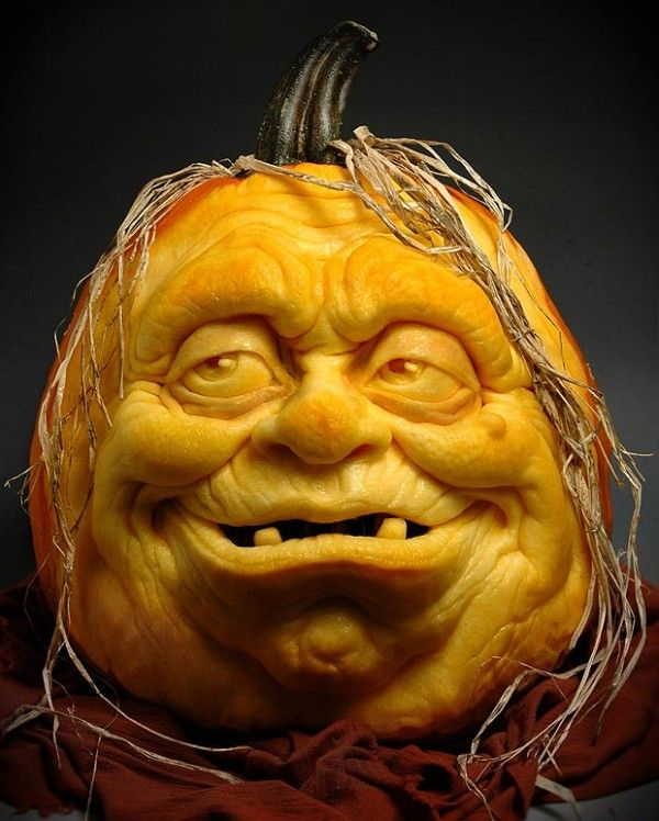 Amazing Pumpkin Carvings By Ray Villafane Pumpkin Carvings - Mind blowing pumpkin carvings by ray villafane 2
