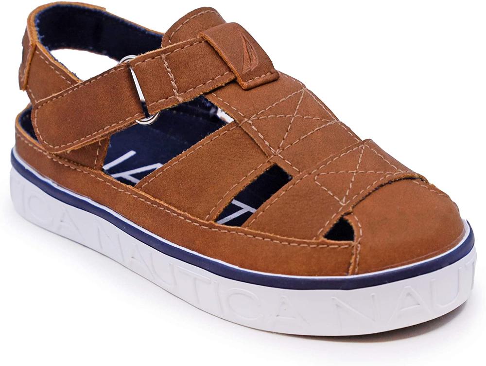 Amazon.com | Nautica Kids Mikkel Closed-Toe Outdoor Sport Casual Sandals (Toddler/Little Kid